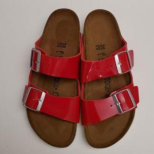 Birkenstock Arizona Tango Red Sandals
